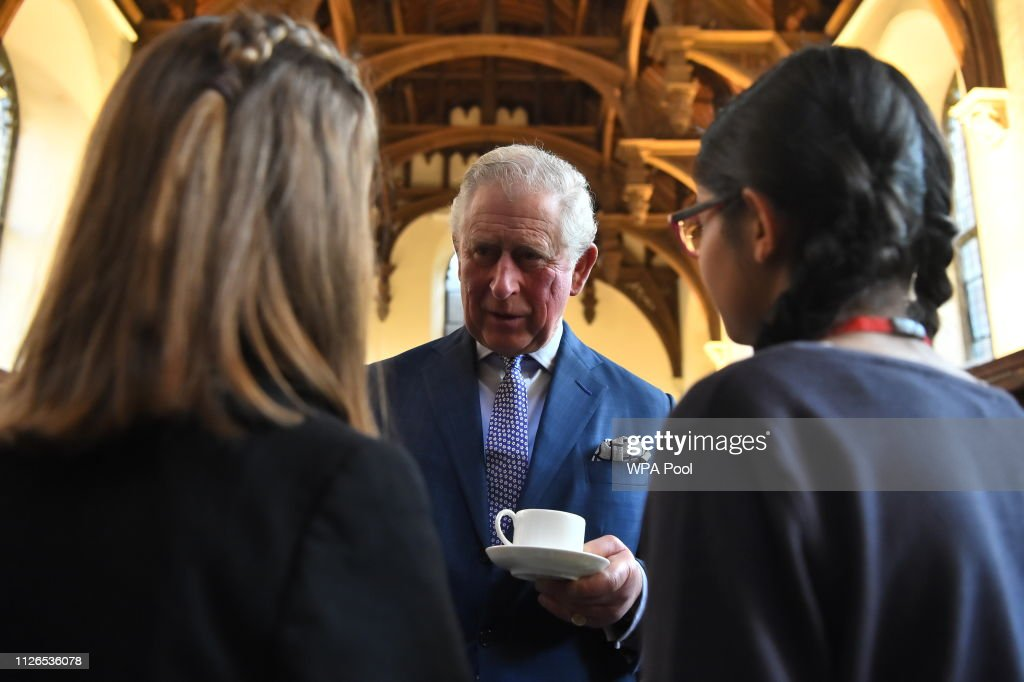 GBR: The Prince Of Wales Presents The Prayer Book Society's Annual Cranmer Awards