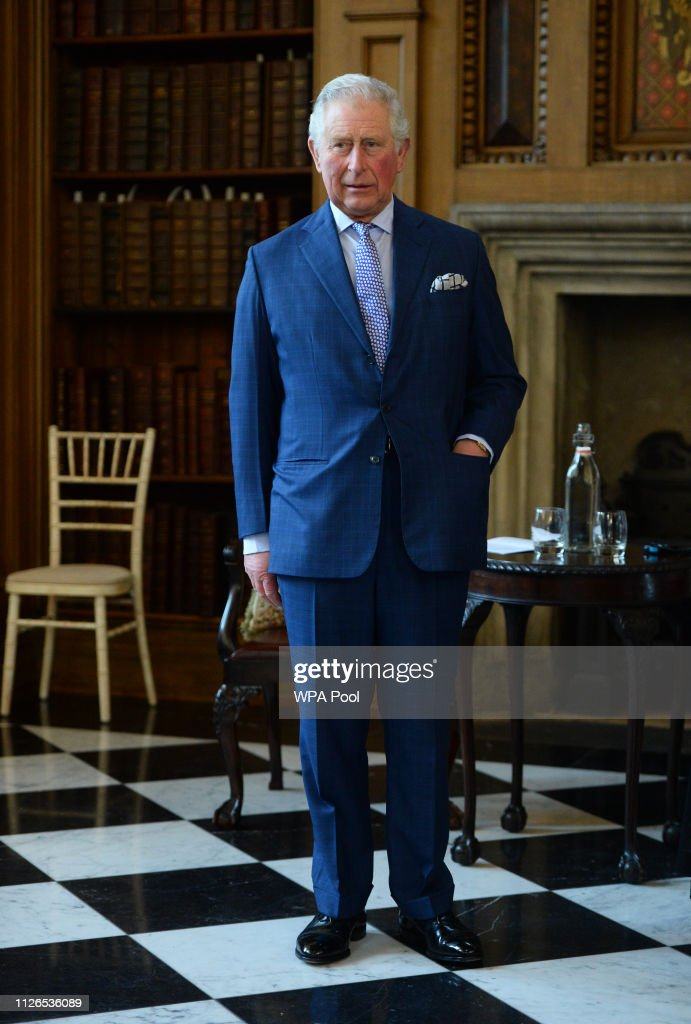 The Prince Of Wales Presents The Prayer Book Society's Annual Cranmer Awards : ニュース写真