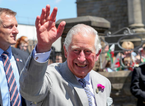 GBR: The Prince Of Wales And Duchess Of Cornwall Visit Wales