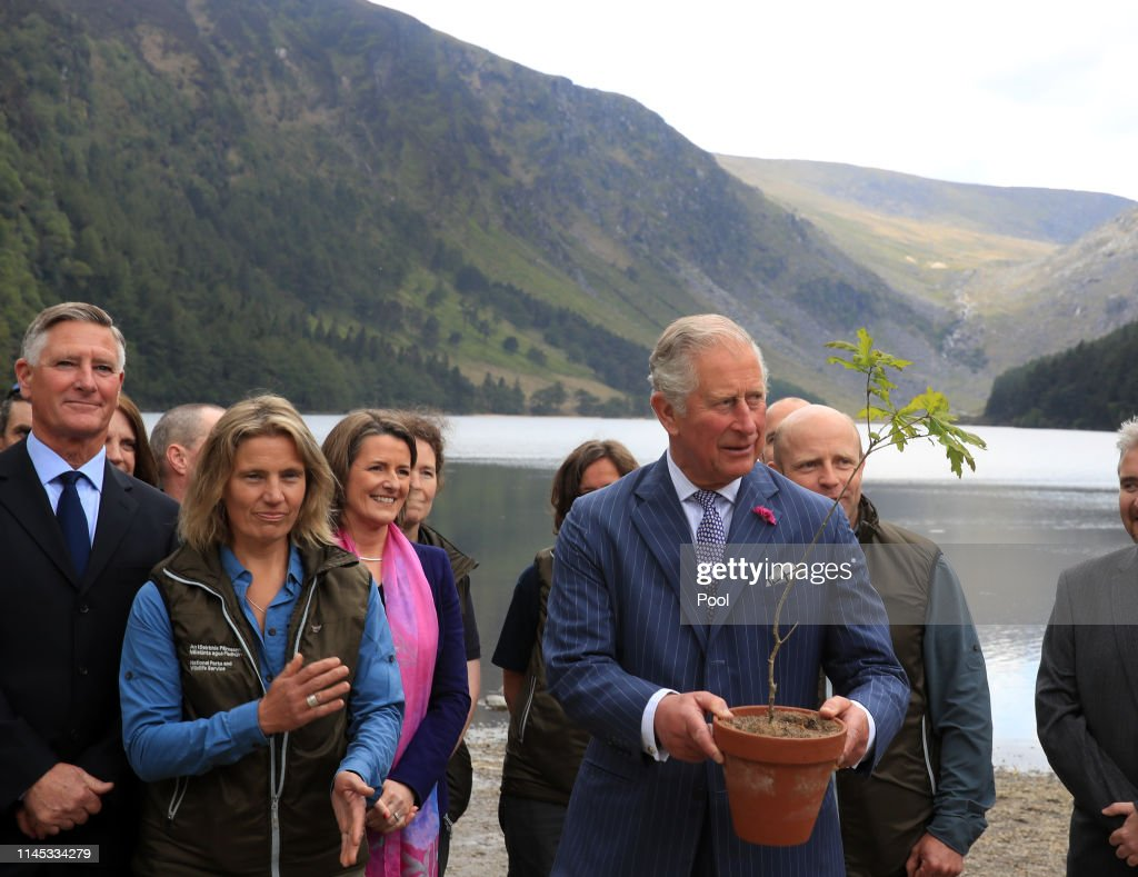 IRL: The Prince Of Wales And Duchess Of Cornwall Visit The Republic Of Ireland - Day 2