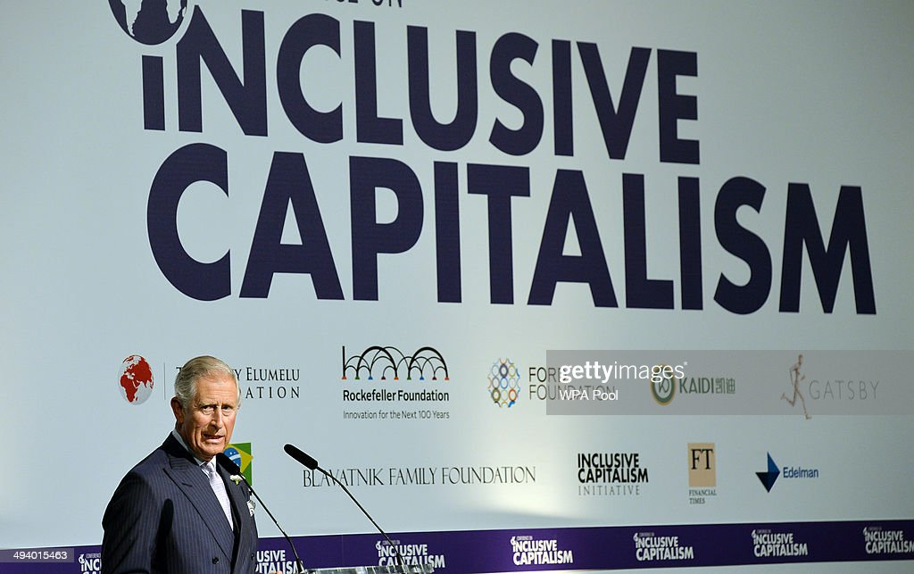 The Prince of Wales Delivers The Opening Address At A Conferenceon Inclusive Capitalism : News Photo