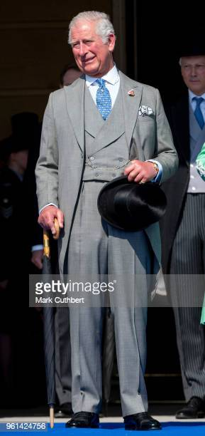 Prince Charles Prince of Wales during The Prince of Wales' 70th Birthday Patronage Celebration held at Buckingham Palace on May 22 2018 in London...