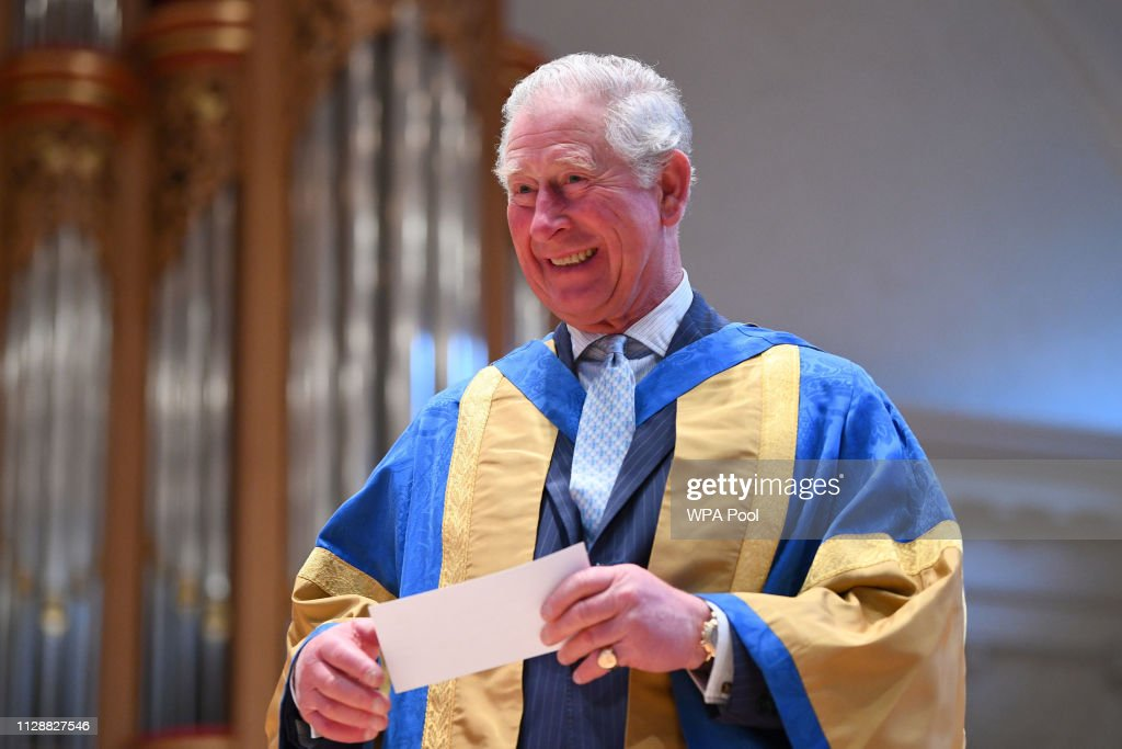 GBR: The Prince Of Wales Attends The Royal College Of Music's Annual Awards Ceremony