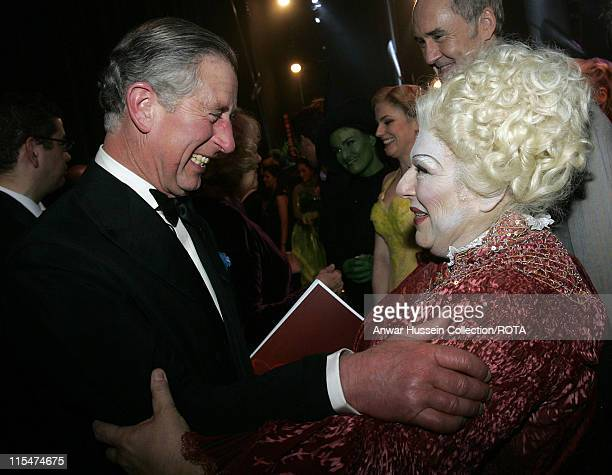 Prince Charles, Prince of Wales during The Royal Variety Performance - Backstage at The Coliseum in London, Great Britain.