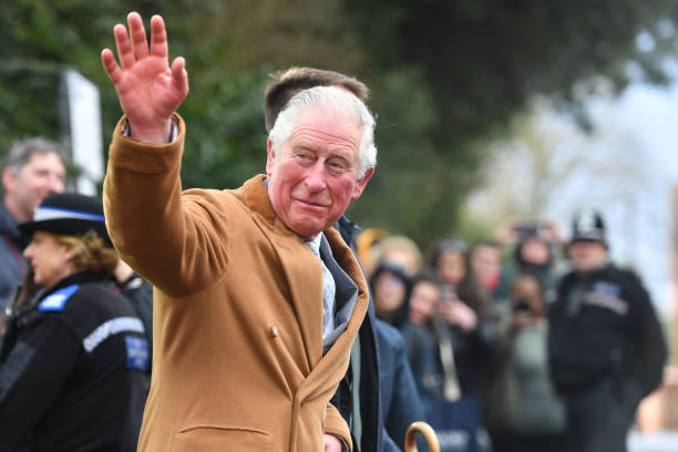 GBR: The Prince Of Wales Visits Warwickshire And The West Midlands