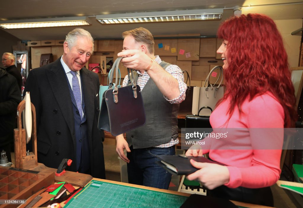 The Prince Of Wales Visits Liverpool : News Photo