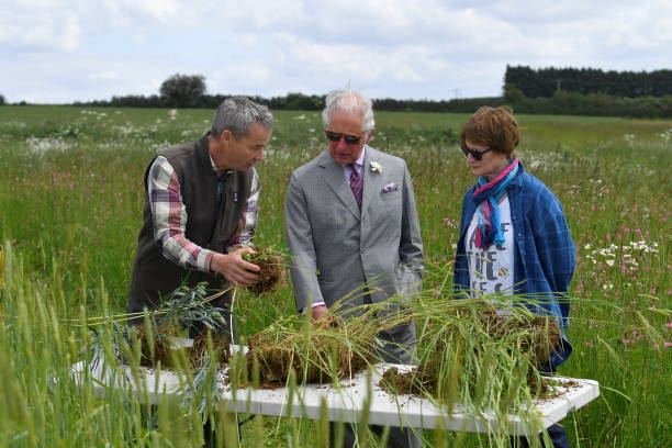 GBR: The Prince Of Wales Visits FarmED