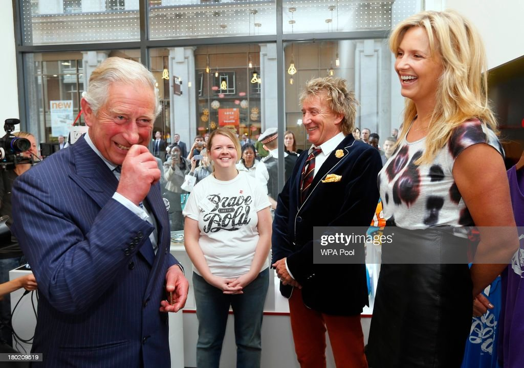 The Prince Of Wales Opens The Prince's Trust 'Tomorrow's Shop