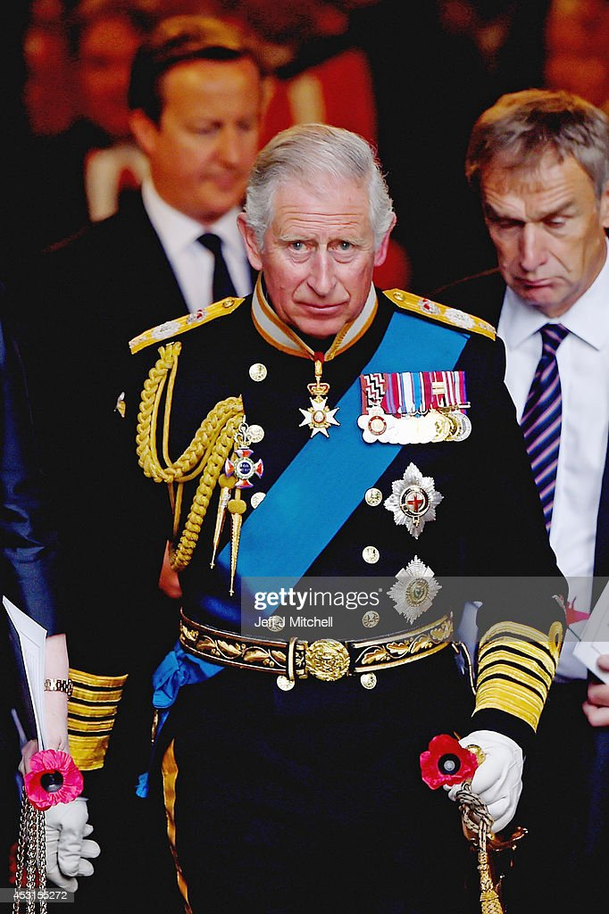 GBR: The Prince Of Wales Attends A Service Of Commemoration For The Commonwealth