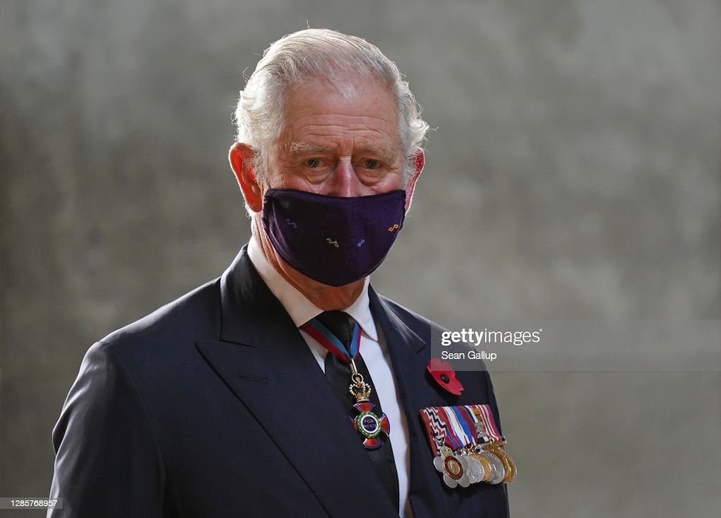 Prince Charles And Camilla Visit Berlin On National Day of Mourning : Nieuwsfoto's