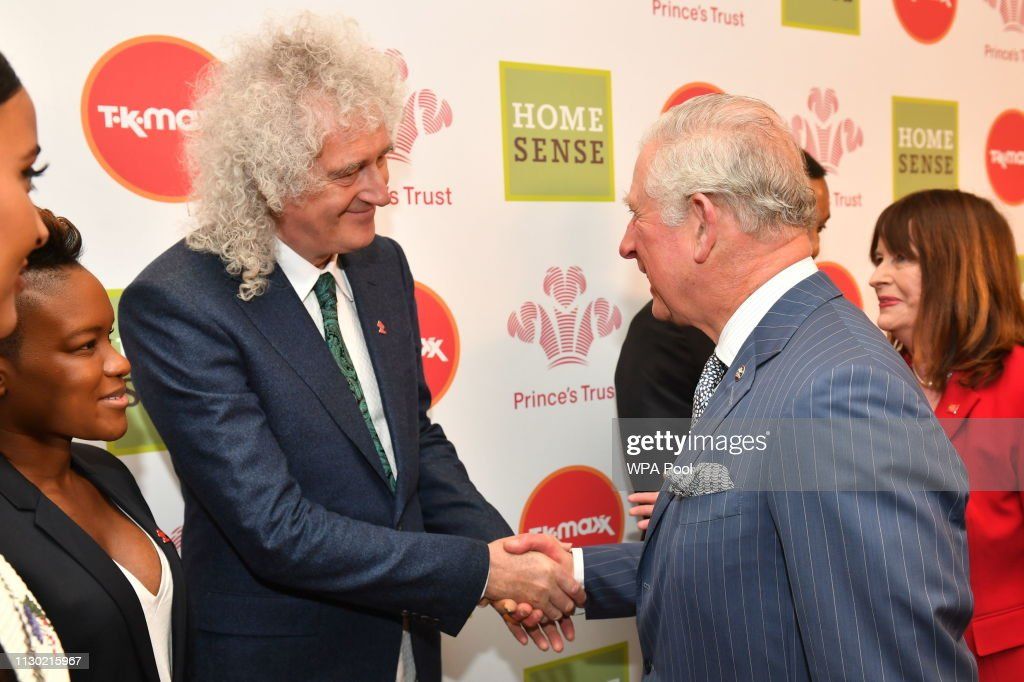 GBR: The Prince Of Wales Attends The Prince's Trust Awards