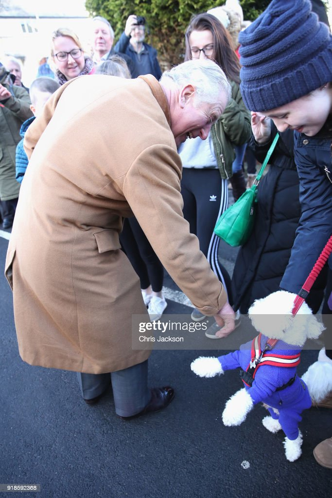 The Prince Of Wales Visits Durham : News Photo