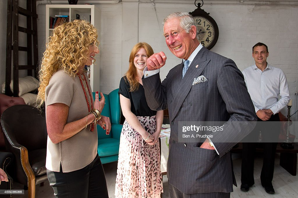 The Prince Of Wales Meets Entrepreneurs Supported By The Prince's Trust : Fotografia de notícias
