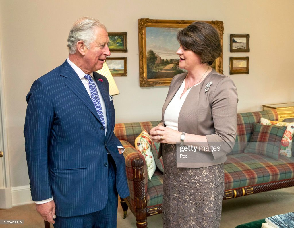 Prince Of Wales And Duchess Of Cornwall Visit Northern Ireland : News Photo