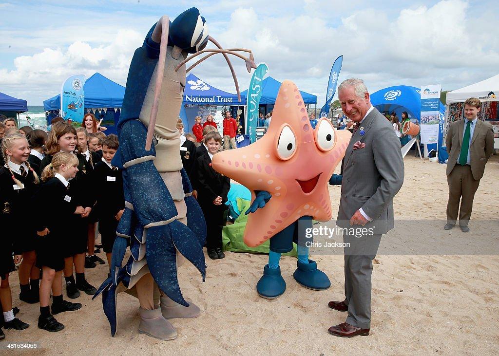 The Duke And Duchess Of Cornwall Visits Cornwall - Day 3 : News Photo