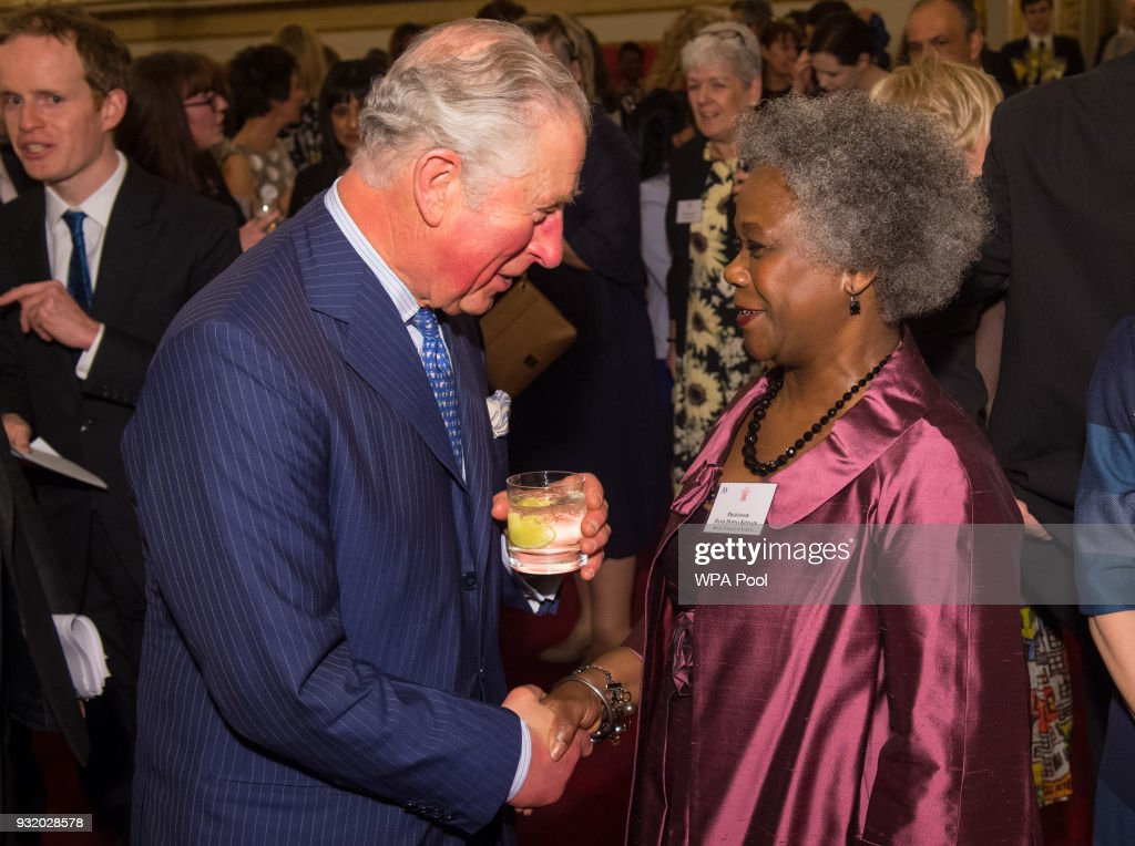 Prince Of Wales Hosts Frontline Nursing In The UK Reception