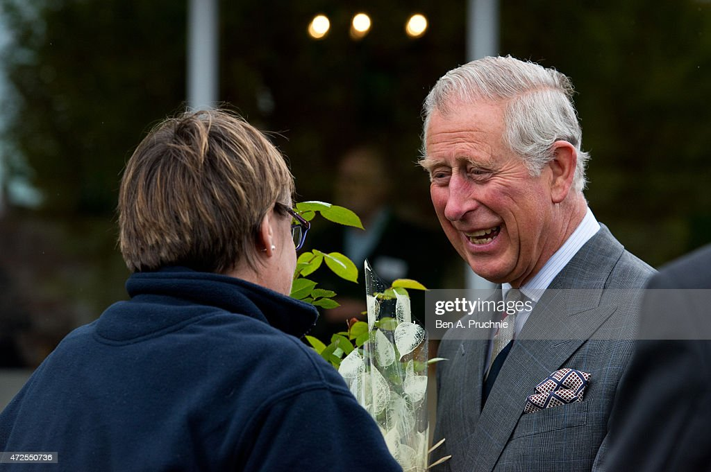 The Prince Of Wales Visits Poundbury : News Photo