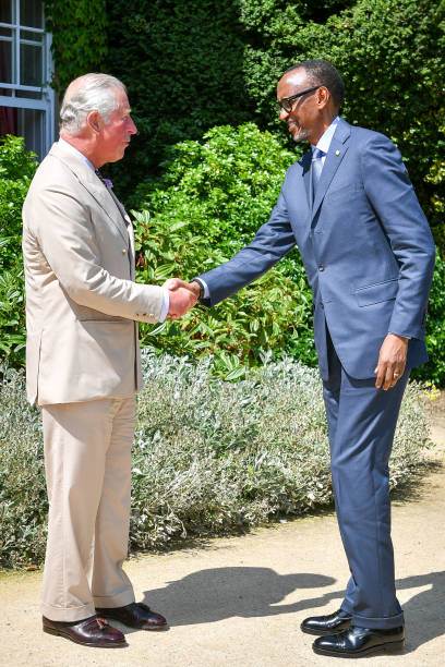 GBR: The Prince of Wales Meets The President of Rwanda