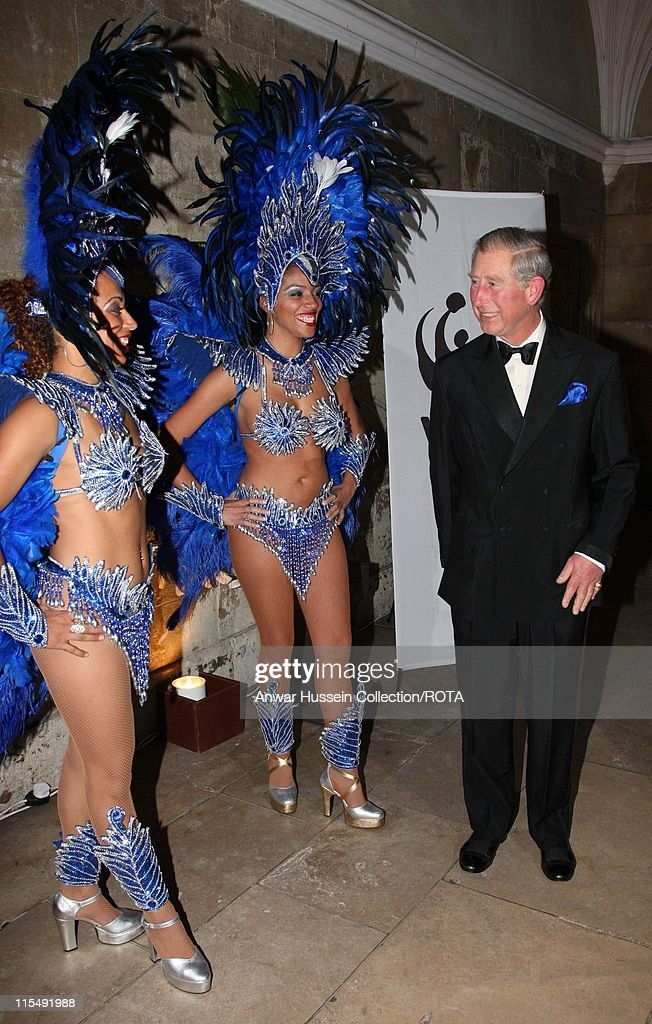 Prince Charles Attends WWF Gala Dinner at Hampton Court Palace
