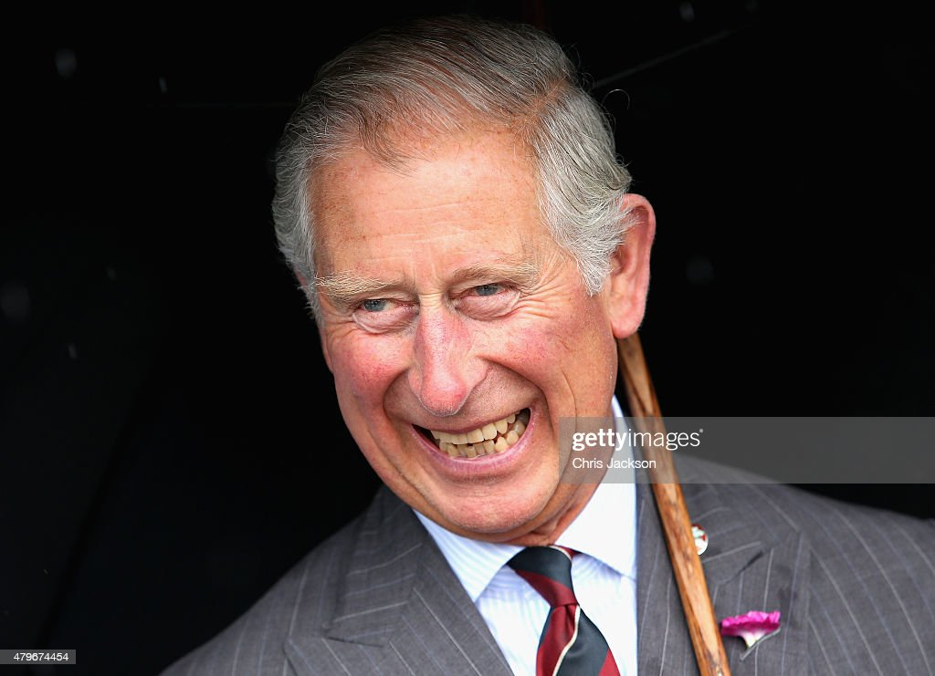 The Prince Of Wales & Duchess Of Cornwall Visit Wales - Day 1 : News Photo