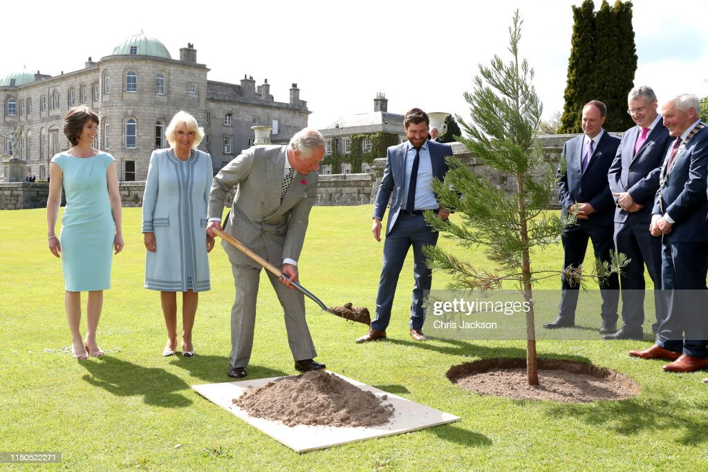The Prince Of Wales And Duchess Of Cornwall Visit The Republic Of Ireland - Day 1 : News Photo