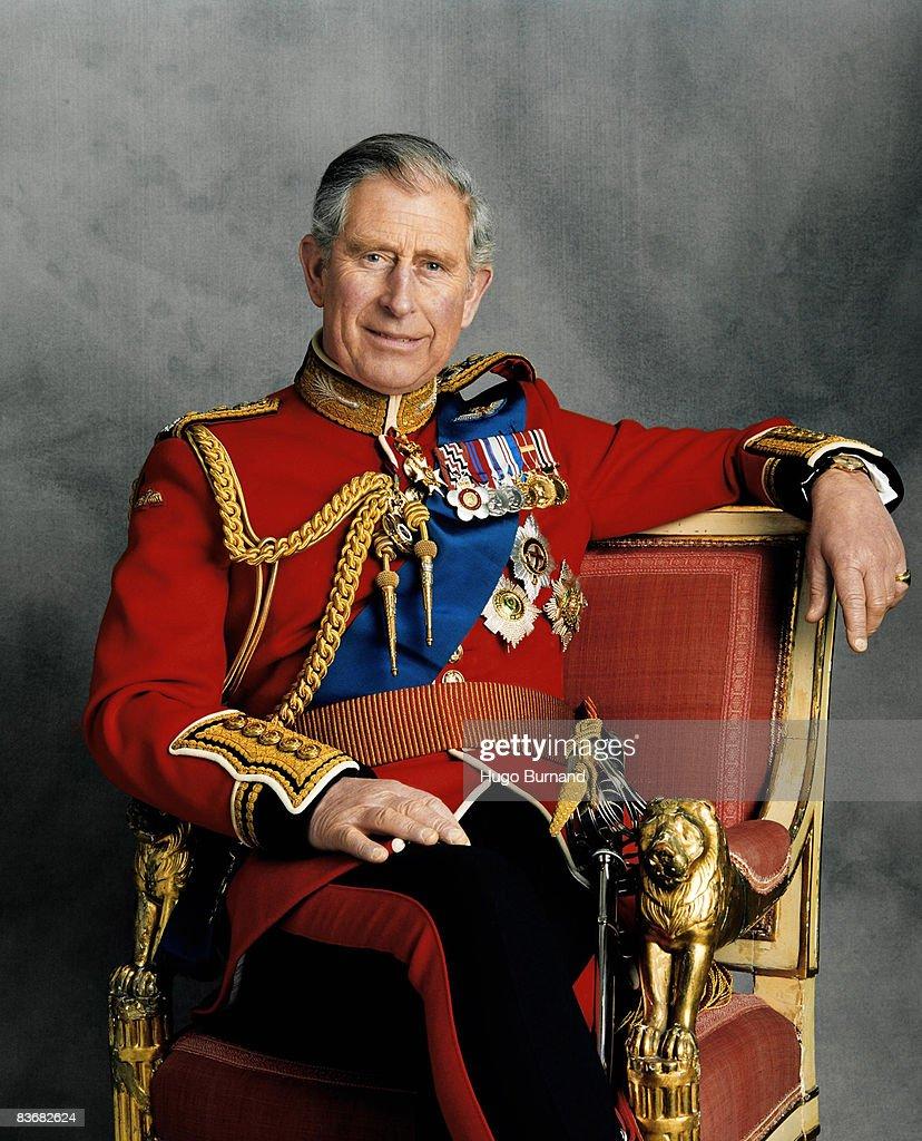 Prince Charles Prince Of Wales 60th Birthday Portrait : Nieuwsfoto's