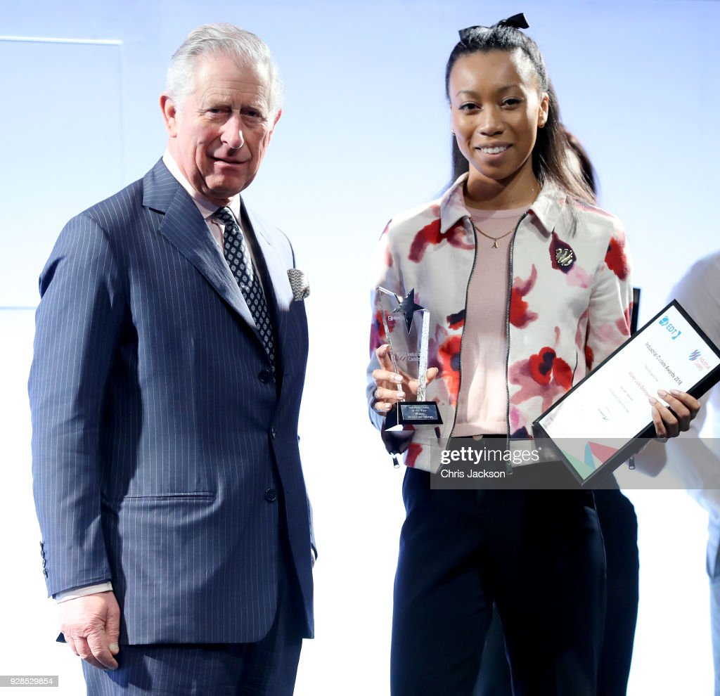 Prince Of Wales Attends Industrial Cadet Awards