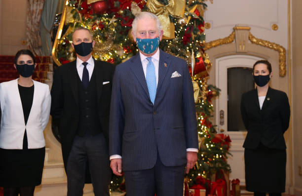 GBR: Prince Of Wales Visits The Ritz Hotel London