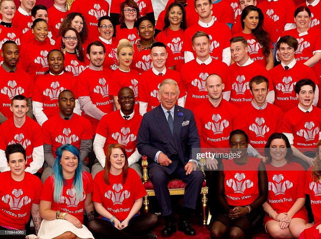 Prince's Trust Job Ambassadors Reception : News Photo