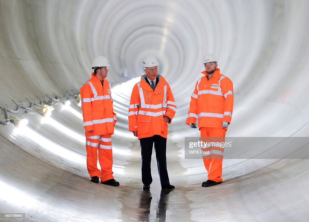 The Prince Of Wales Marks 150th Anniversary Of London's Sewer Network : News Photo