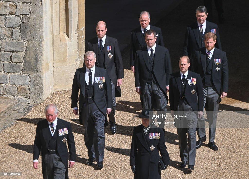 The Funeral Of Prince Philip, Duke Of Edinburgh Is Held In Windsor : News Photo