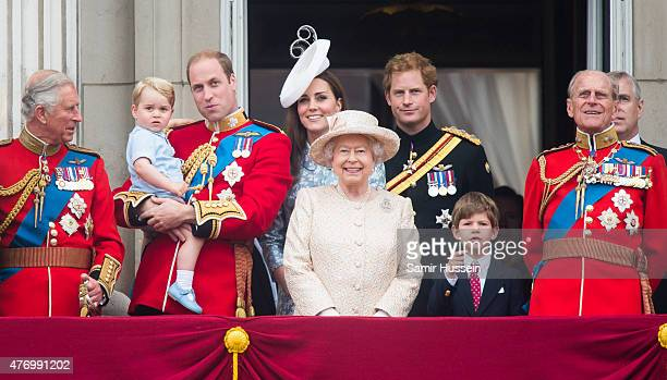 Prince Charles Prince of Wales Prince George of Cambridge Prince William Duke of Cambridge Catherine Duchess of Cambridge Queen Elizabeth II Prince...
