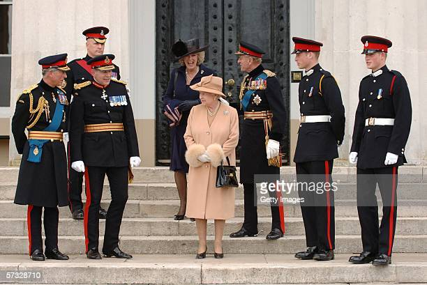 Prince Charles Prince of Wales Prince William and Prince Harry Prince Philip Duke of Edinburgh Queen Elizabeth II and Camilla Duchess of Cornwall...