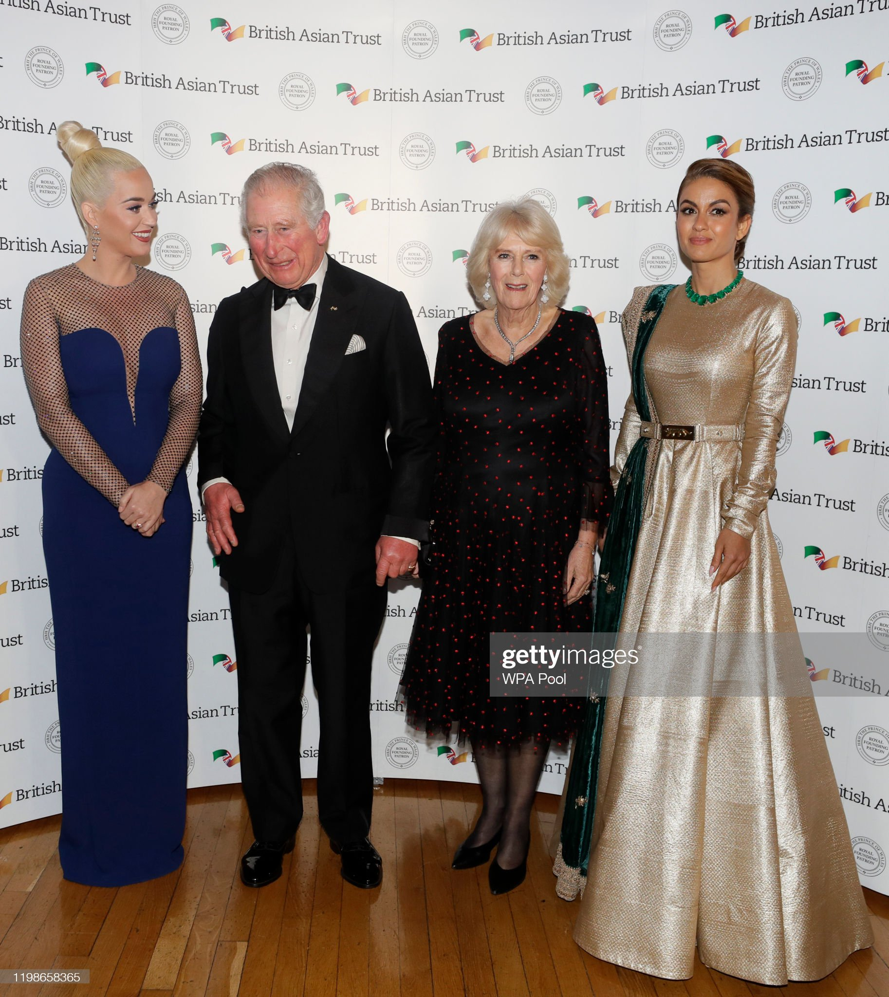 The Prince Of Wales And Duchess Of Cornwall Attend A Reception To Celebrate The British Asian Trust : News Photo
