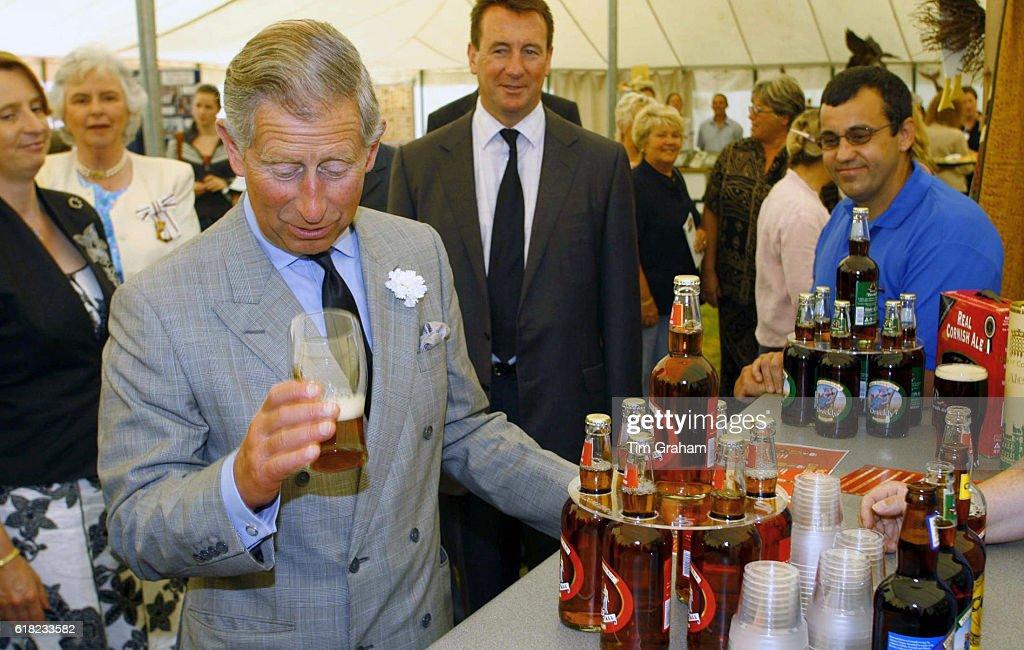 Uk - Prince Charles Visits Showcase Launceston in Cornwall : News Photo