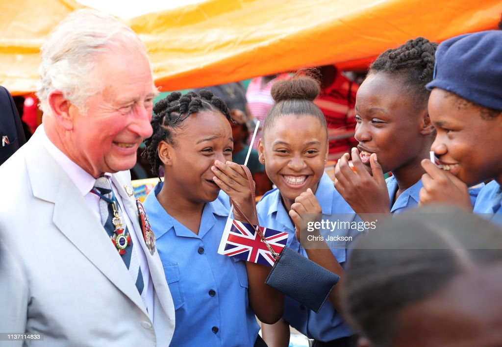 The Prince Of Wales And Duchess Of Cornwall Visit St. Vincent And The Grenadines : News Photo