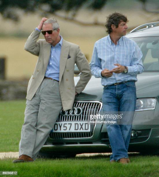 Prince Charles And Prince William Play In Chakravarty Cup