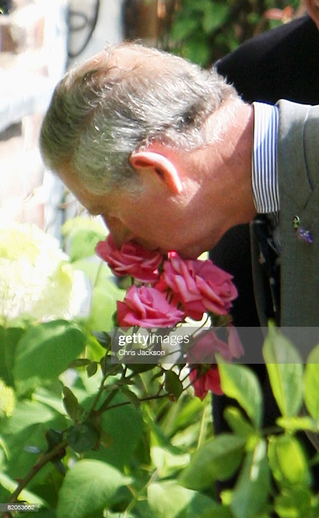 Prince Charles And The Duchess of Cornwall Visit Miltons Cottage : News Photo