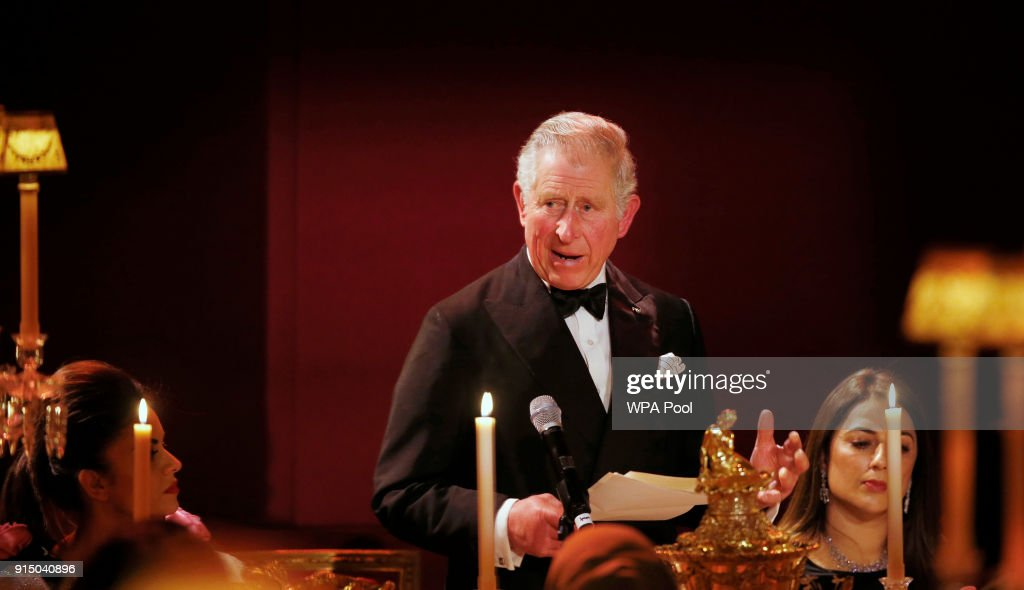 The Prince Of Wales And Duchess Of Cornwall Celebrate 10th Anniversary Of The British Asian Trust : News Photo