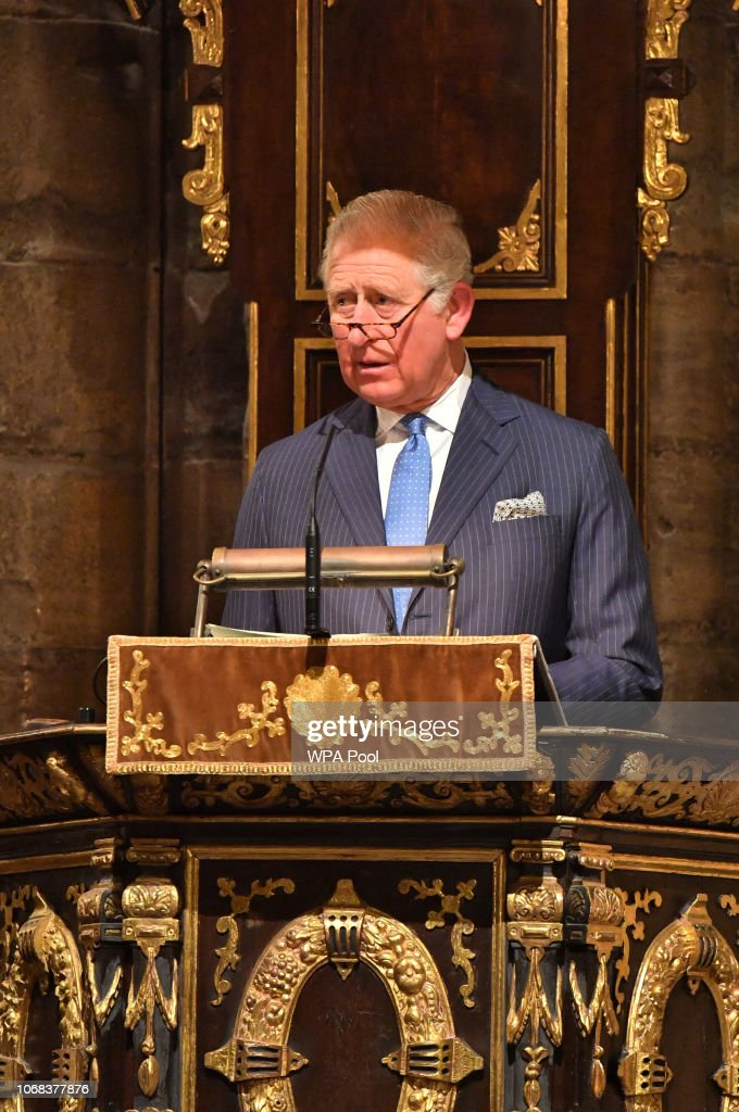 The Prince Of Wales Attends Service To Celebrate The Contribution Of Christians In The Middle East : News Photo