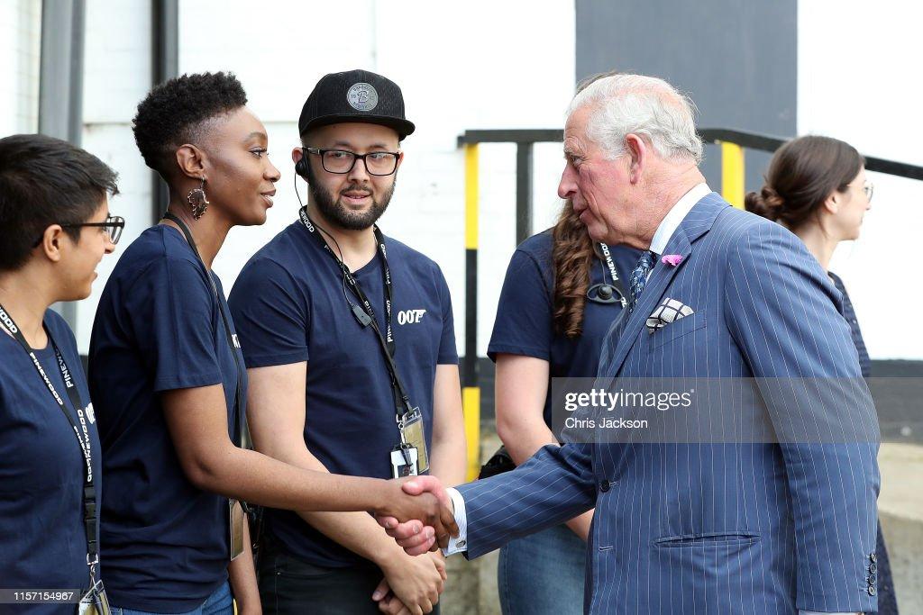The Prince Of Wales Visits The James Bond Set : News Photo