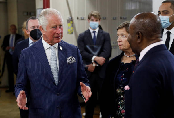 GBR: The Prince Of Wales Invites SMI CEO's To The Royal Botanic Gardens, Kew