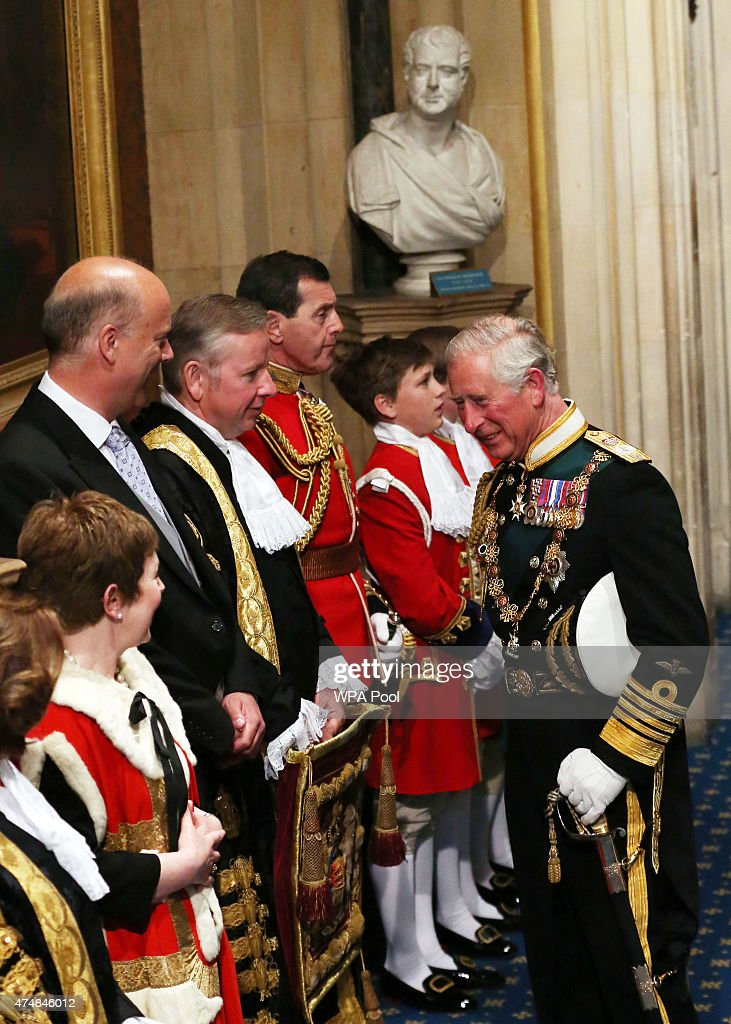 The State Opening Of Parliament : News Photo