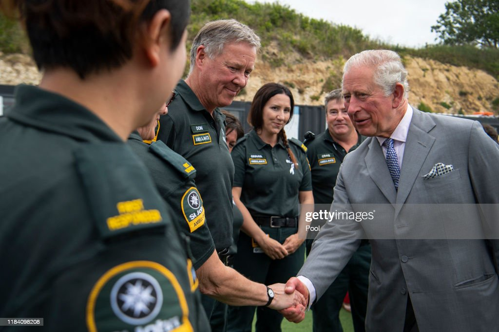 The Prince of Wales & Duchess Of Cornwall Visit New Zealand - Day 7 : Nyhetsfoto