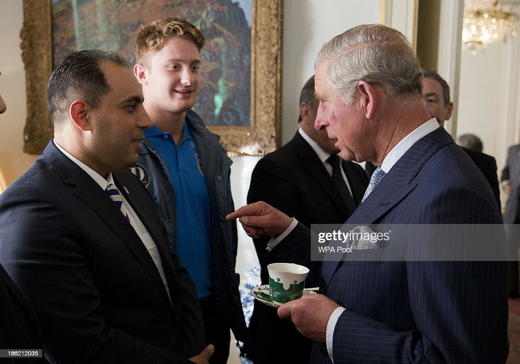 Prince Charles Hosts Reception For Rugby League World Cup Teams : News Photo