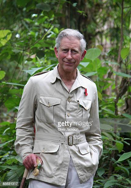 Prince Charles, Prince of Wales tours the Harapan Rainforest Project on November 2, 2008 in Jambi, Indonesia. Prince Charles, Prince of Wales and...