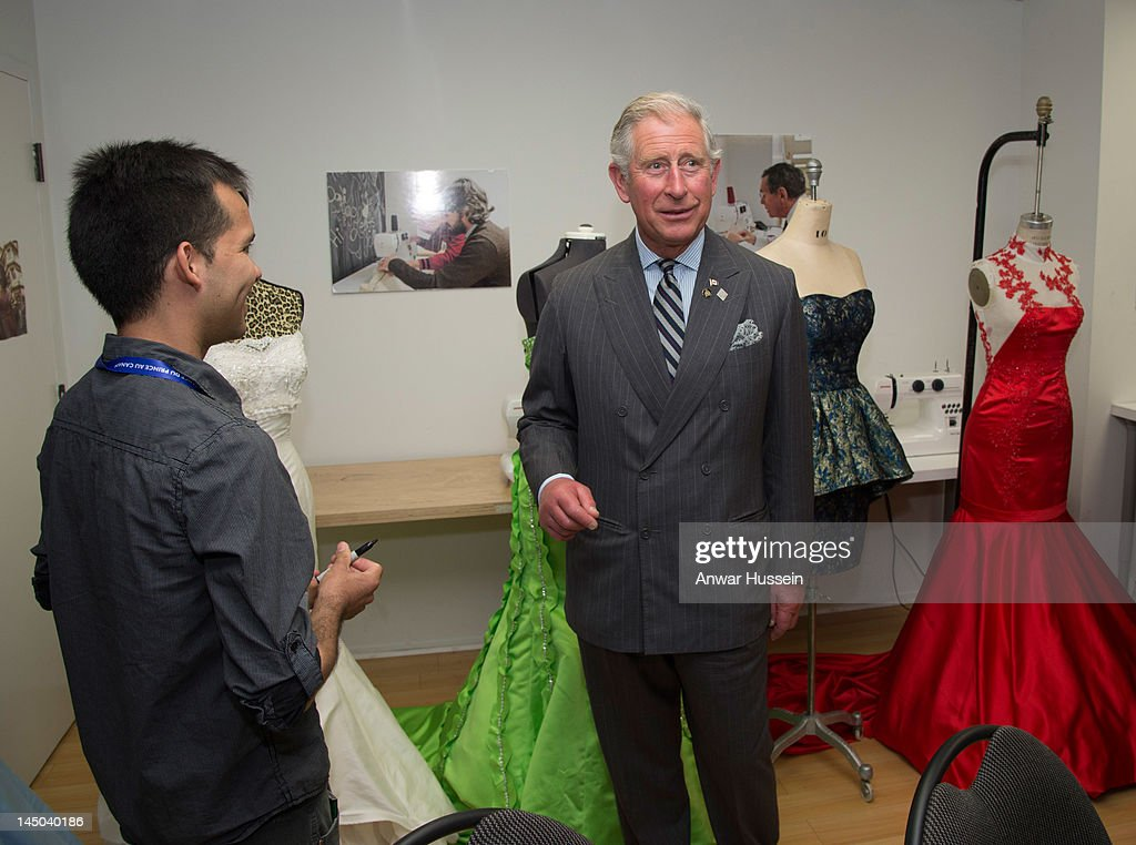 Prince Charles Prince Of Wales Visits A Fashion Design Program At News Photo Getty Images