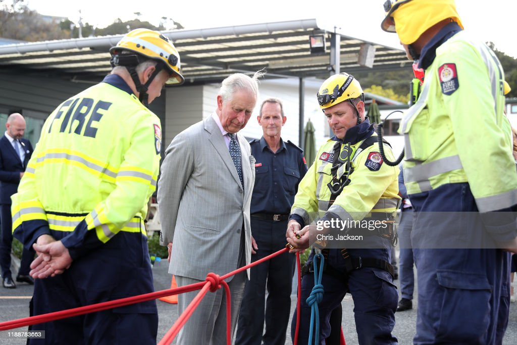 The Prince of Wales & Duchess Of Cornwall Visit New Zealand - Day 4 : News Photo