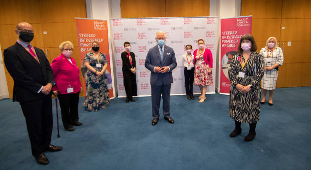 GBR: The Prince Of Wales Visits Breast Cancer Now
