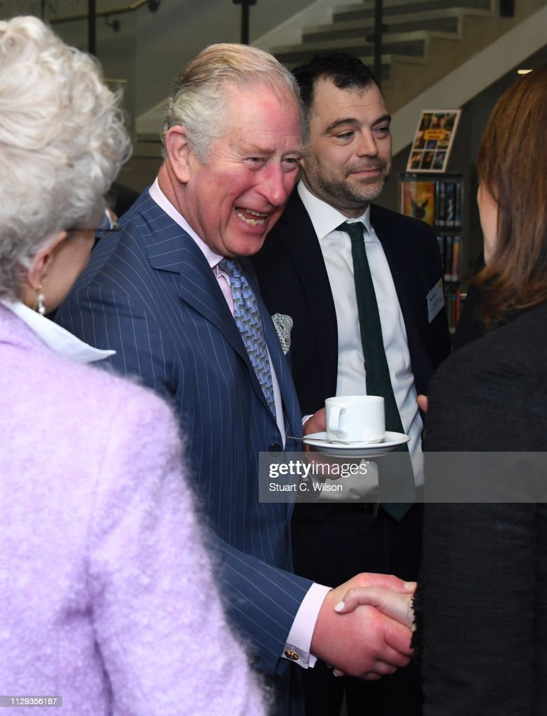 GBR: The Prince Of Wales Visits Kensington Aldridge Academy